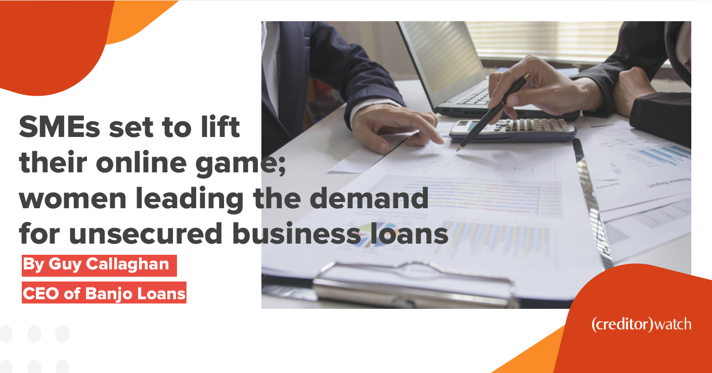 SMEs set to lift their online game; women leading the demand for unsecured business loans