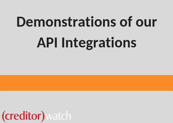 Demonstrations of our API Integrations